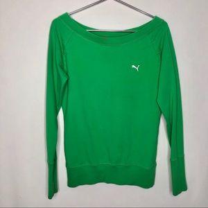 Puma Keyhole Back Raglan Sweatshirt